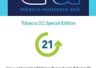 Tobacco 21 Updates